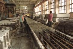 ЖБК-5. 2008 р.  Заглажування поверхні паль