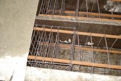 ЖБК-5. 2008 р. Армування голови паль сітками