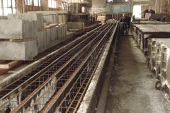 ЖБК-5. 2008 р. Довгий стенд з виробництва паль