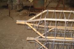 ЖБК-5. 2008 р.  Вістря арматурного каркасу паль