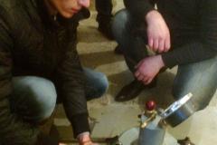 Визначення повітрявтягнення в бетонну суміш. Т-41. 2014 р.