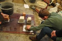 Виготовлення зразків для визначення марки цегли. Тс-31. 2015 р.