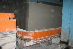 ХСМ. 2011. Різка масива на блоки